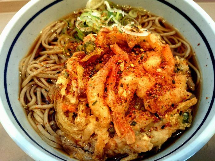 海老名SA Japan Japanese  お出掛け Trip Photo Japan Photography Japan Photos JapaneseStyle Japanese Food Food Noodlesoup Noodle Soba Noodles Soba Kakiage Kakiage Soba