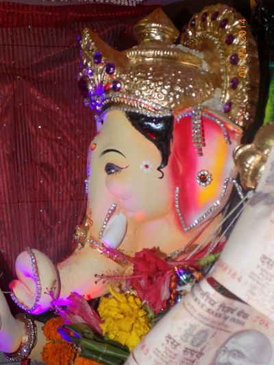 Lord Ganesha God Is Great Peace And Love Happy :)