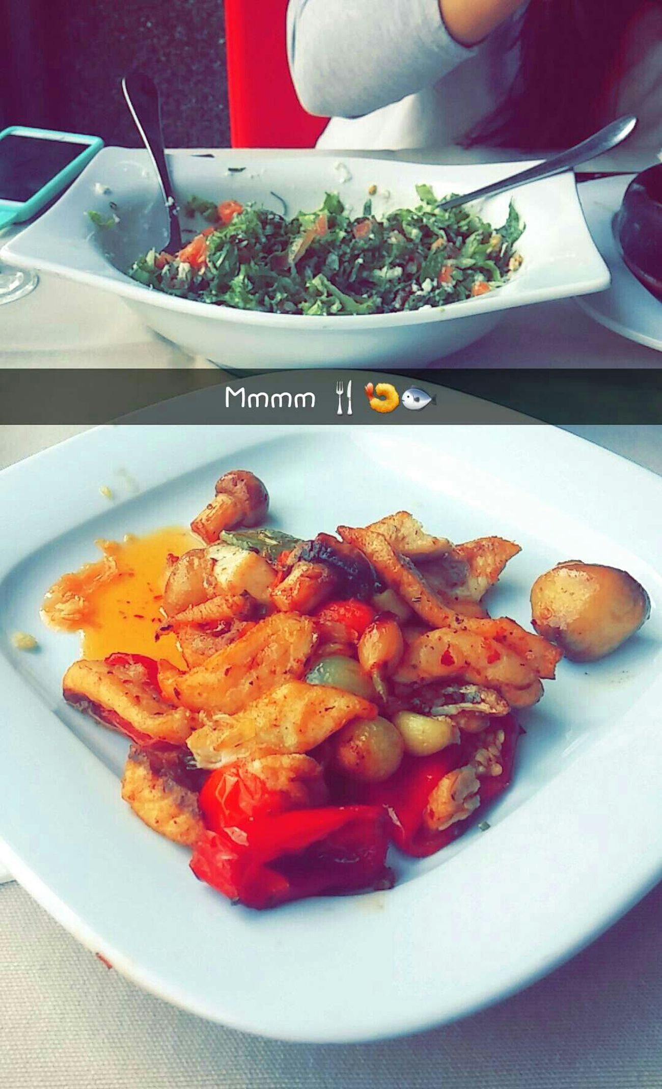 Fish Balık Istanbul Turkey Florya Yeşilköy Sahili Lunch Eating Hummus Dinner Falafel