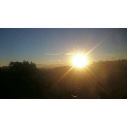 Amanecer Sol Cielo Rayosdesol Montanas Df