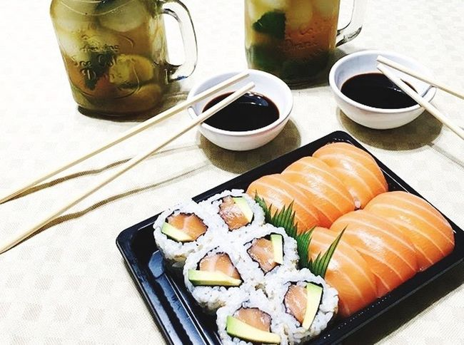 Sushi Time 🍣🍘🍤