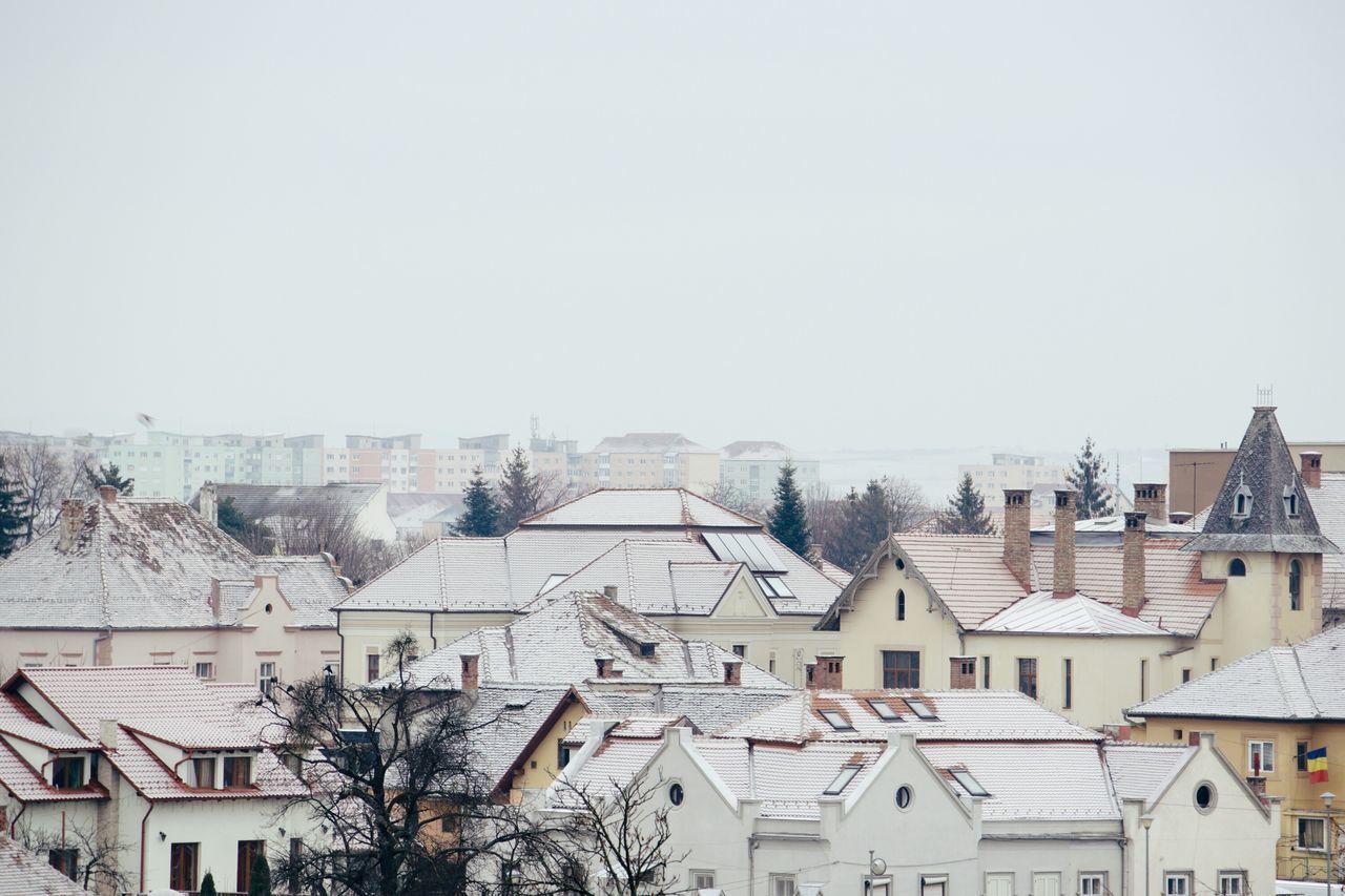 Architecture Cityscape Snow