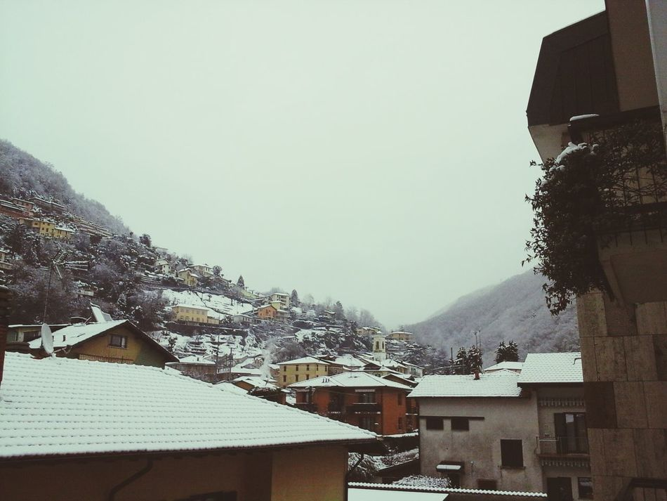 Maccagno Sotto La Neve. First Eyeem Photo