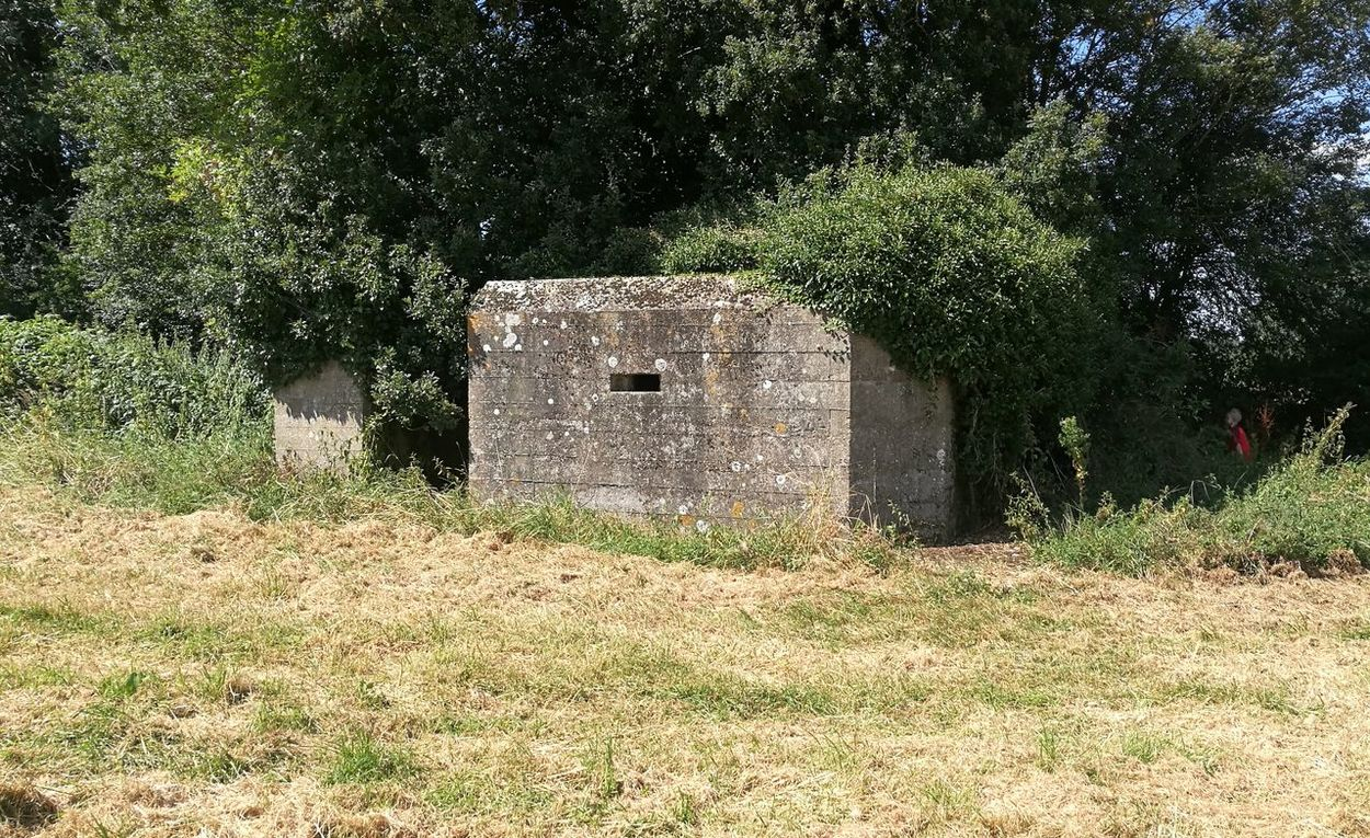 PILLBOX Military Structure WWII Architecture
