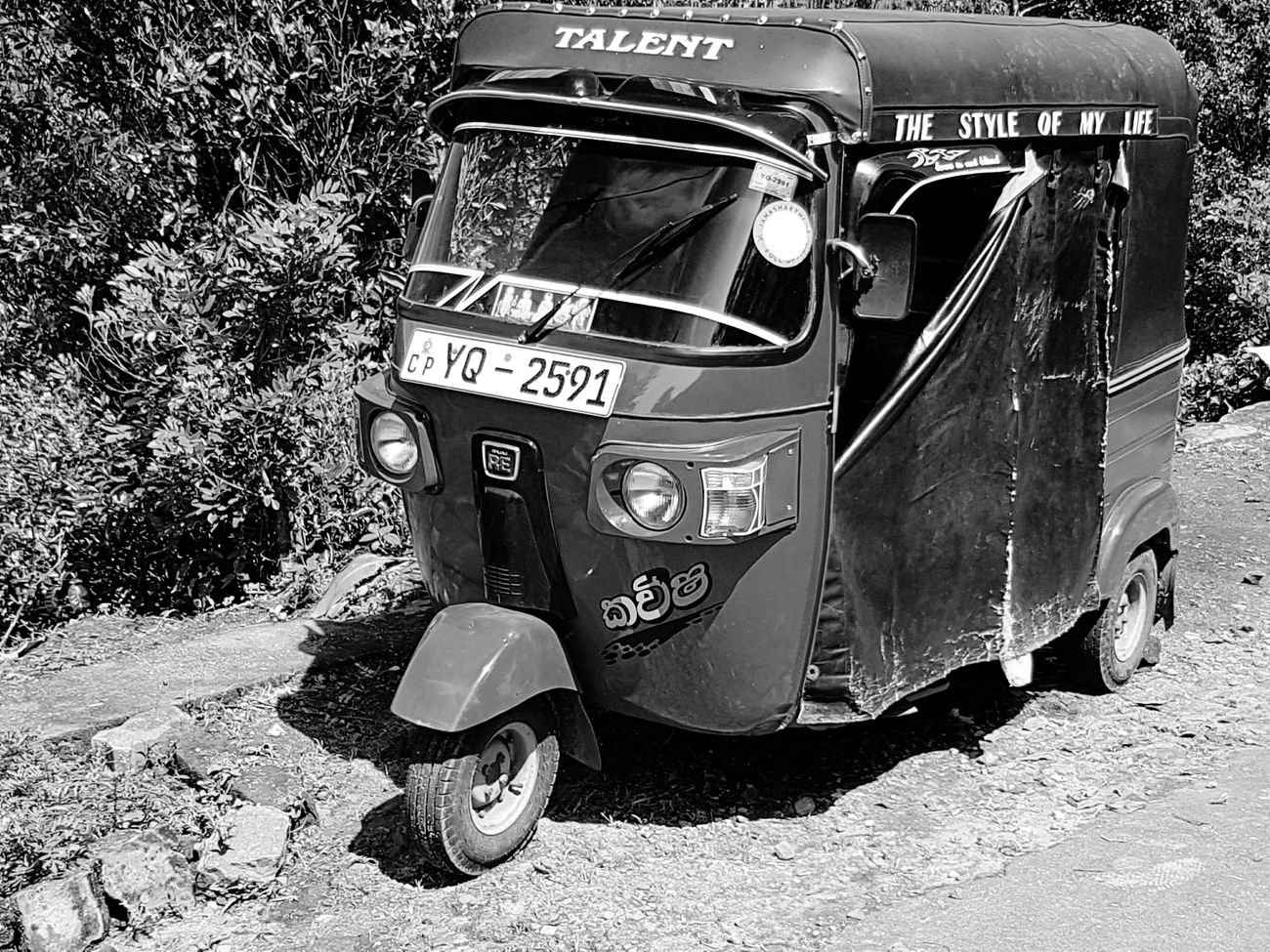 Holiday2017 Samsung Galaxy S7 Holiday Black & White Sri Lanka Glenloch Tea Plantation  Tuctuc Red Vehicle 3 Wheels