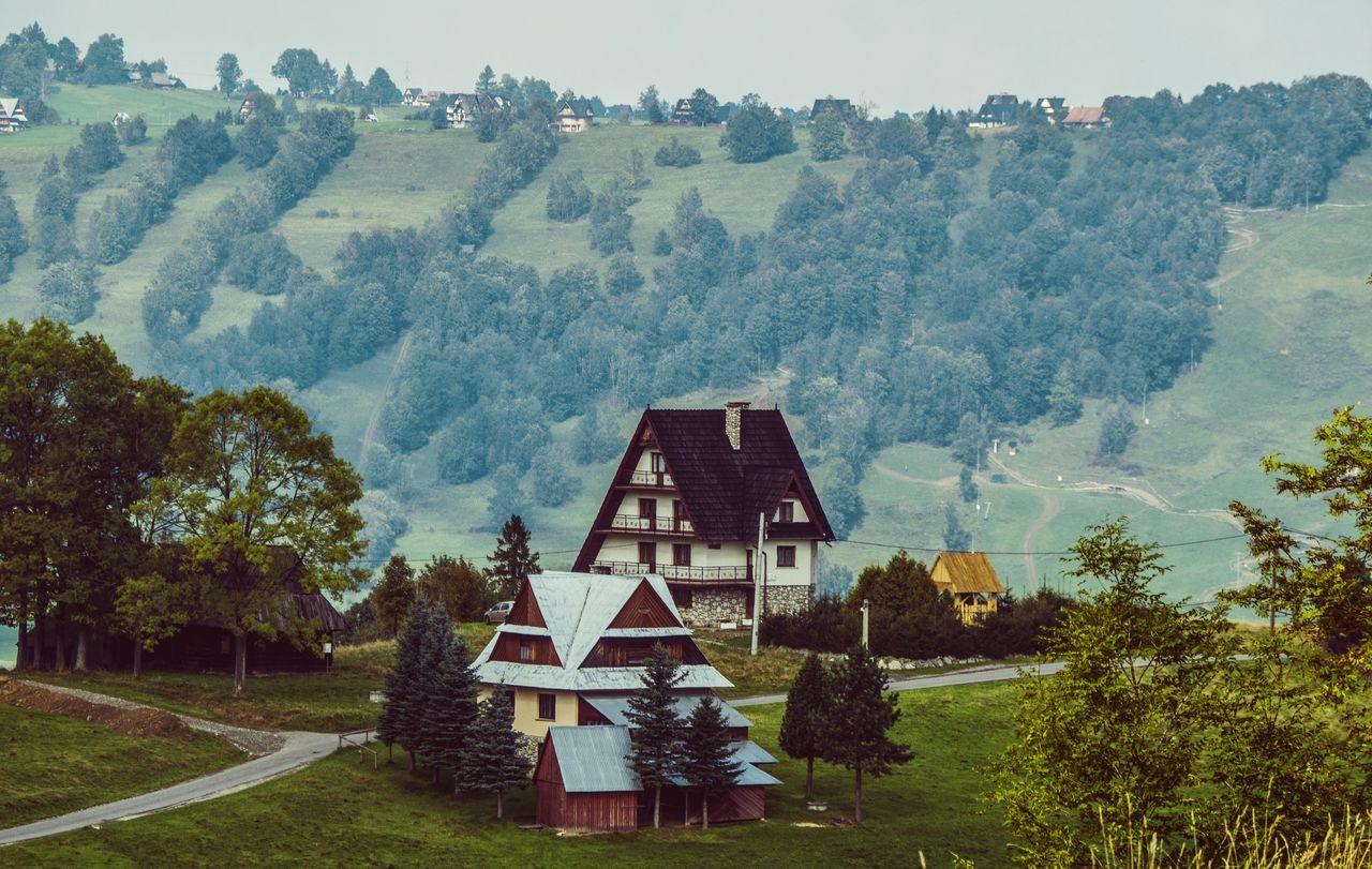 zakopiec! Gubałówka Mountain View Nature Outdoors Poland Sky And Clouds View Viewpoint Zakopane