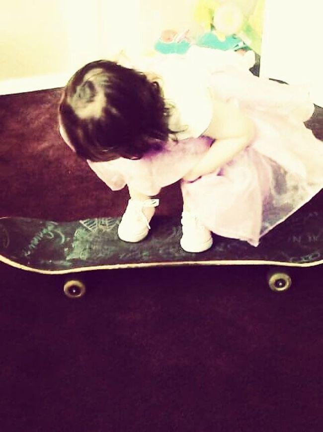 Baby Babygirl Skater Skater Girl SkaterDress Dress Fashion Babies Baby Photography Model Shoot Skaterboarding Skateboard Daughter