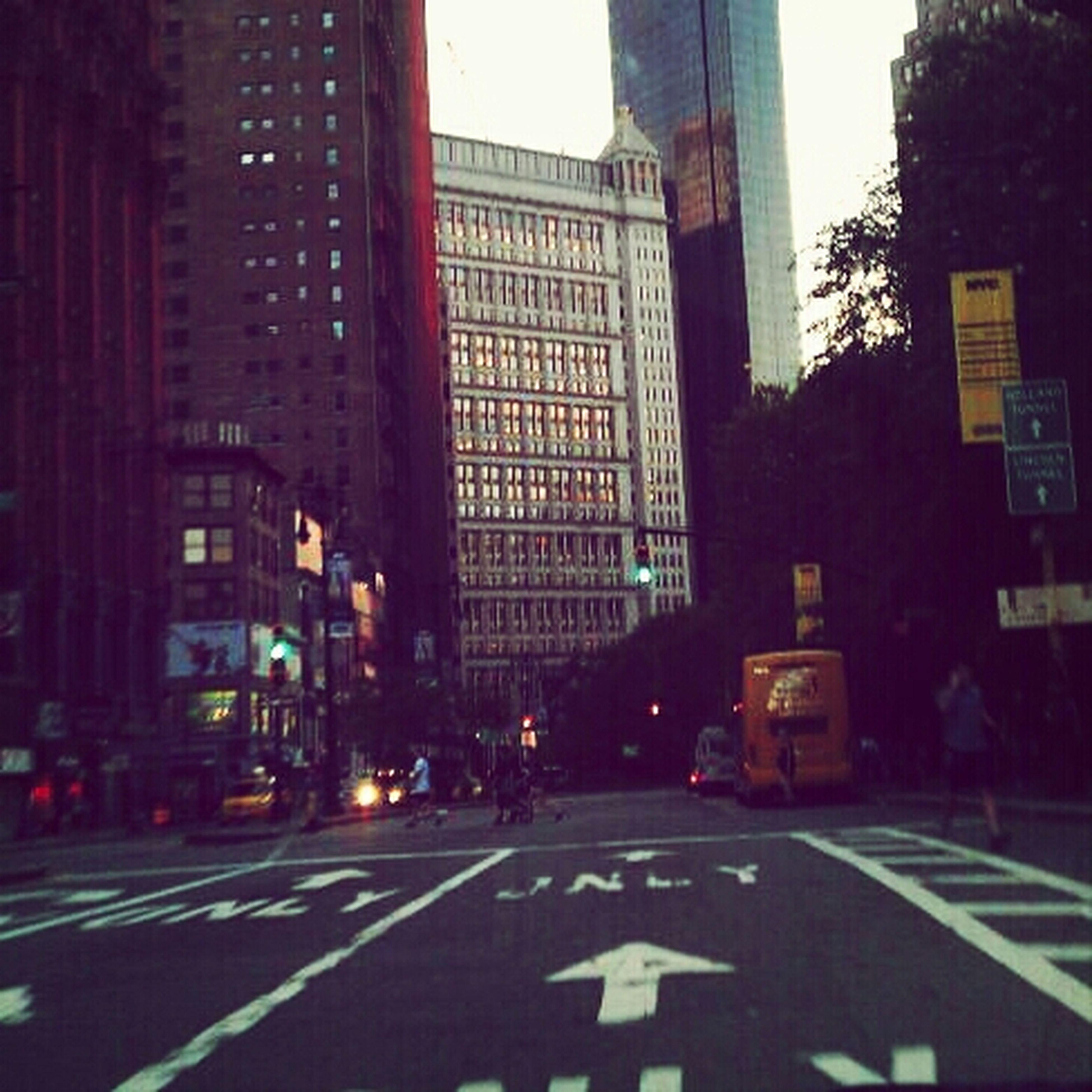 Street Architecture NYC City Life