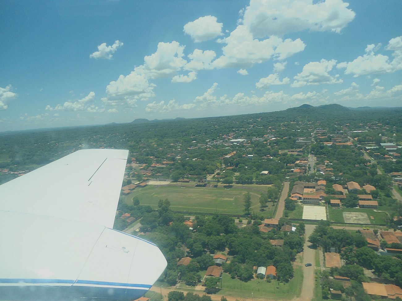 Holiday POV Opening Fly Paraguay Paraguari
