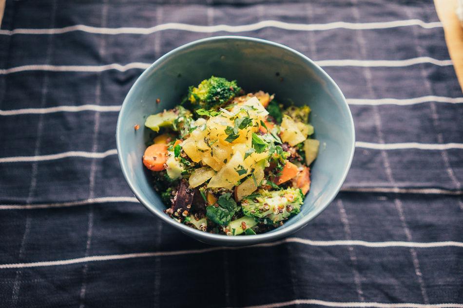 Beautiful stock photos of vegetables, Bowl, Broccoli, Fabric, Food