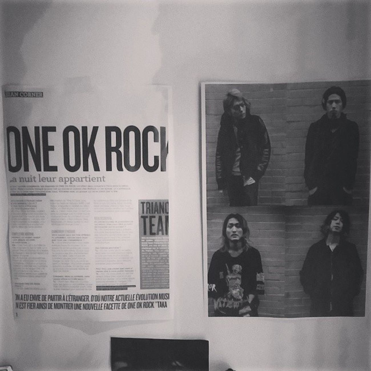 Magazine OOR ONEOKROCK Concert interviews trianon love photocopy