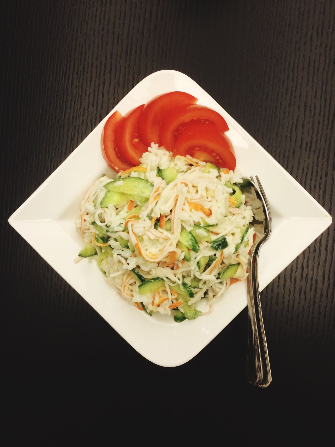 Surimi Crab Stick Salad Foodporn