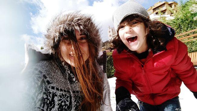 Enjoying Life Childsplay<3 Life At It's Best Winter Vibes Snow❄⛄