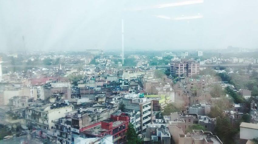 Delhi Top View Buildings Roof Top