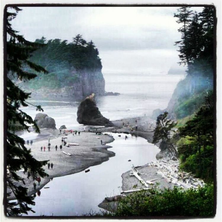 Rubybeach Coast of Washington Ocean Beach Washington State Colors Beach Photography West Coast Forks, Washington Twilight Nature No People Scenic Photograghy Scenic The Great Outdoors With Adobe