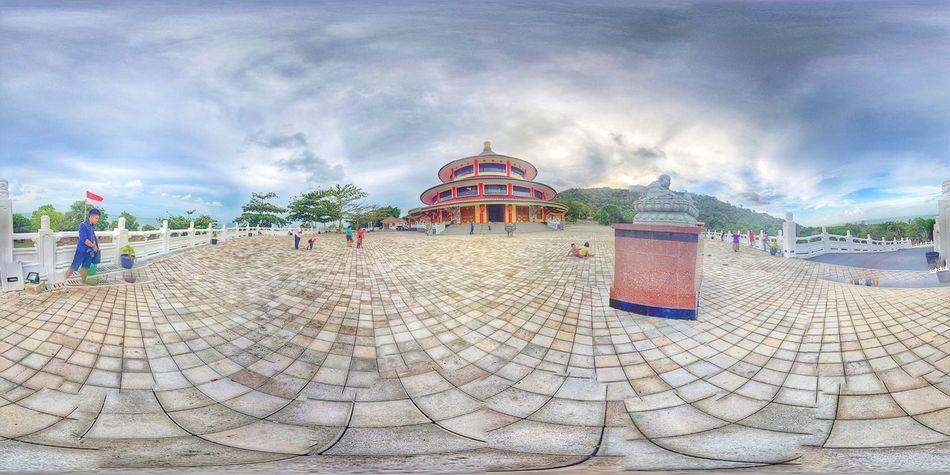 Panoramic Photography Kuil Imlek Bangka Explorebangka