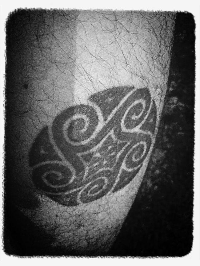Tattoo Tattooed Leg Tattoo Tribal Celtic