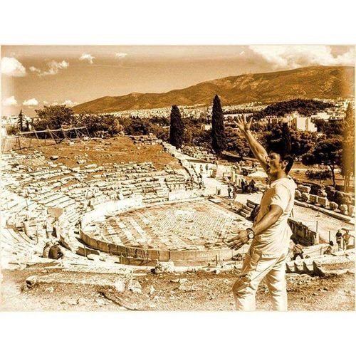The Theatre of Dionysus Eleuthereus is a major open-air theatre and one of the earliest preserved in Athens. It was used for festivals in honor of the god Dionysus. Greece Ελλάδα Athens Αθηνα Whitecity Atina VisitGreece Instagreece Instaathens Amazing Construction Greekarchitecture Ancient Theatre Old Architecture Oldarchitecture Acropolis Historicalplaces