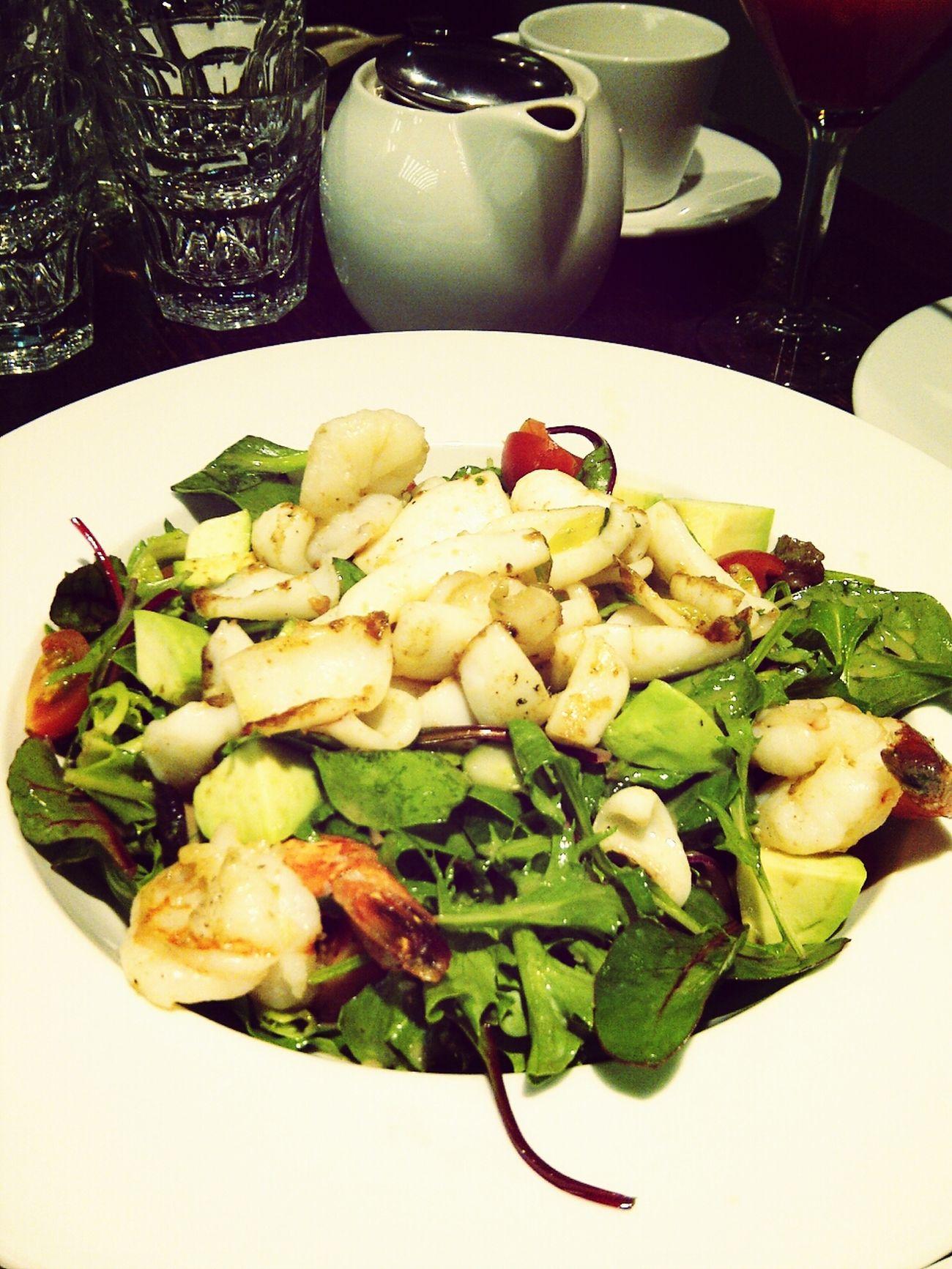 Seafood Salad! Salads <3 Yummy Foodphotography Nom Nom Nom