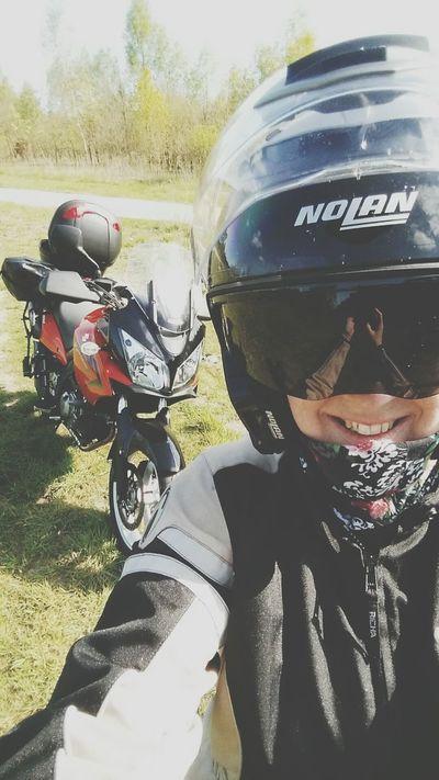 Had a great roadtrip!🌞👌❤ Suzuki VStrom Motorbikes Dl650
