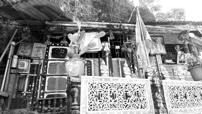 A Traditional Place Kayin State, Burma. Limestone Cave