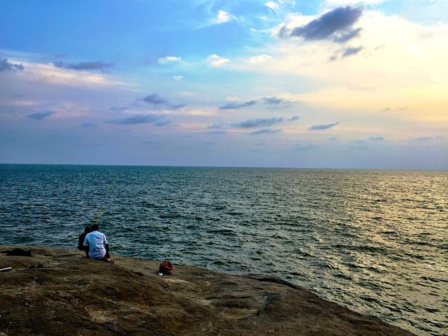 Arabian Sea Relaxing Sunset India Incredible India IPhoneography Travel Photography Traveling ASIA Hello World Digitalnomad