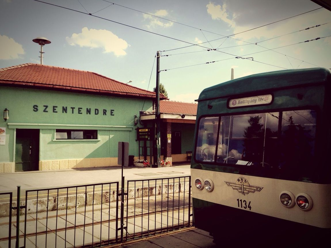 Szentendre Magyarország Hungary September Relaxing Enjoying Life Clouds And Sky Train Station Vintage Old Remember Great Atmosphere Great Time  Szia Earthwithoutartisjusteh Simplicity