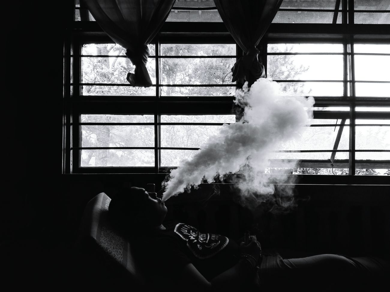 Morning drag. VapeLife Black And White Mornings Take A HIT Pick Your Poison Lifestyle