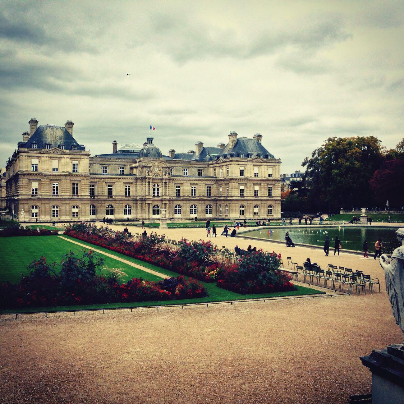 Paris Jardin Du Luxembourg Sénat Ballade à Paris.