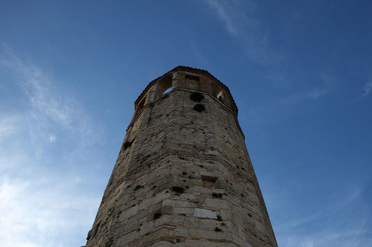 Amelia Architecture Blue Built Structure Day History Italy Low Angle View No People Old Outdoors Sky Tower Umbria
