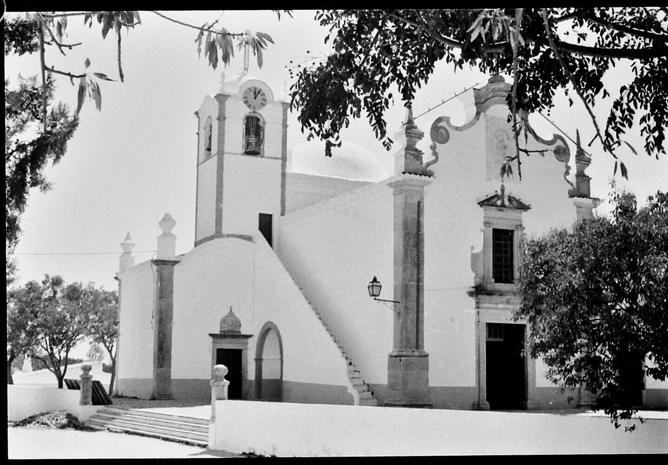 Place Of Worship Architecture Spirituality Travel Destinations Blk N Wht Portugal 1980s
