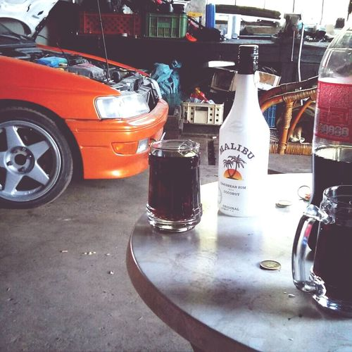 Car Drink Chill