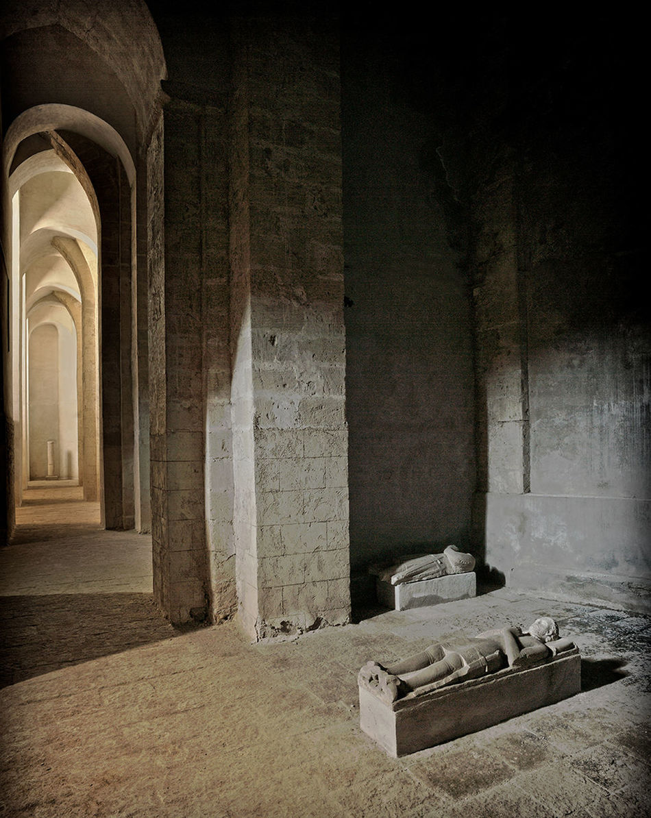 Arch Architectural Column Architecture Basement Built Structure Cellar Certosa San Martino Day Gothic Architecture Indoors  Naples, Italy No People