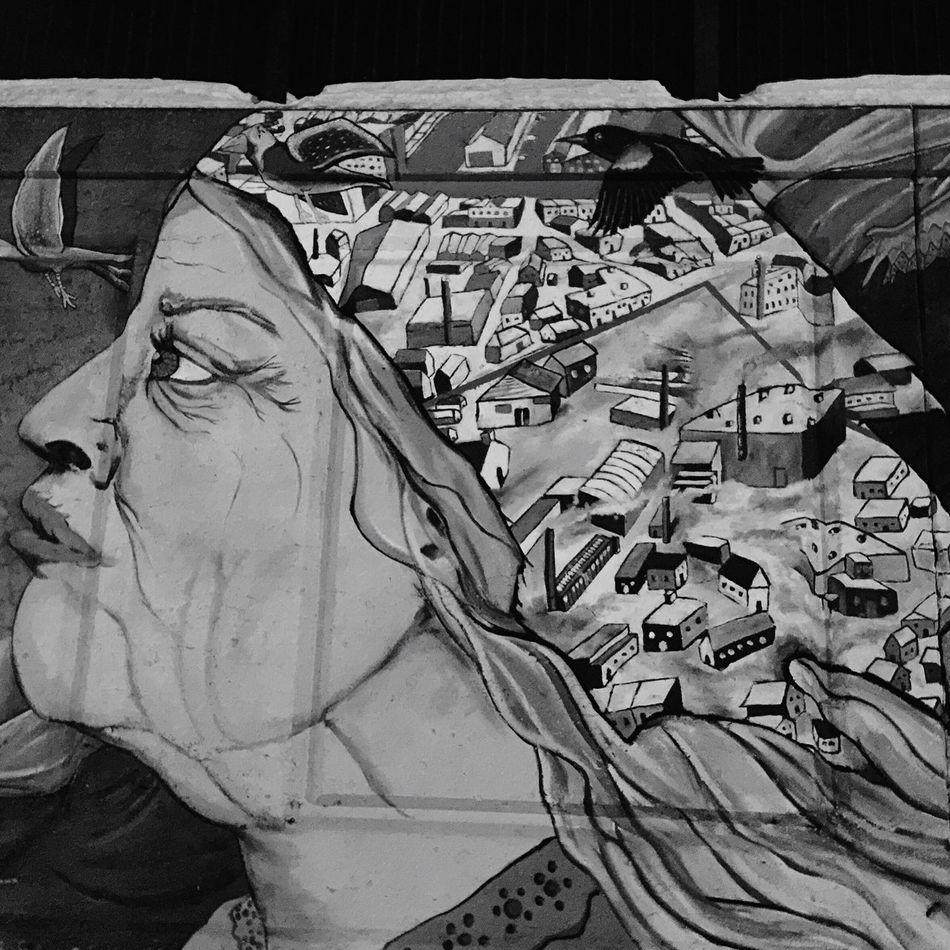 Blackandwhite Streetart Life In Motion Streetphotography