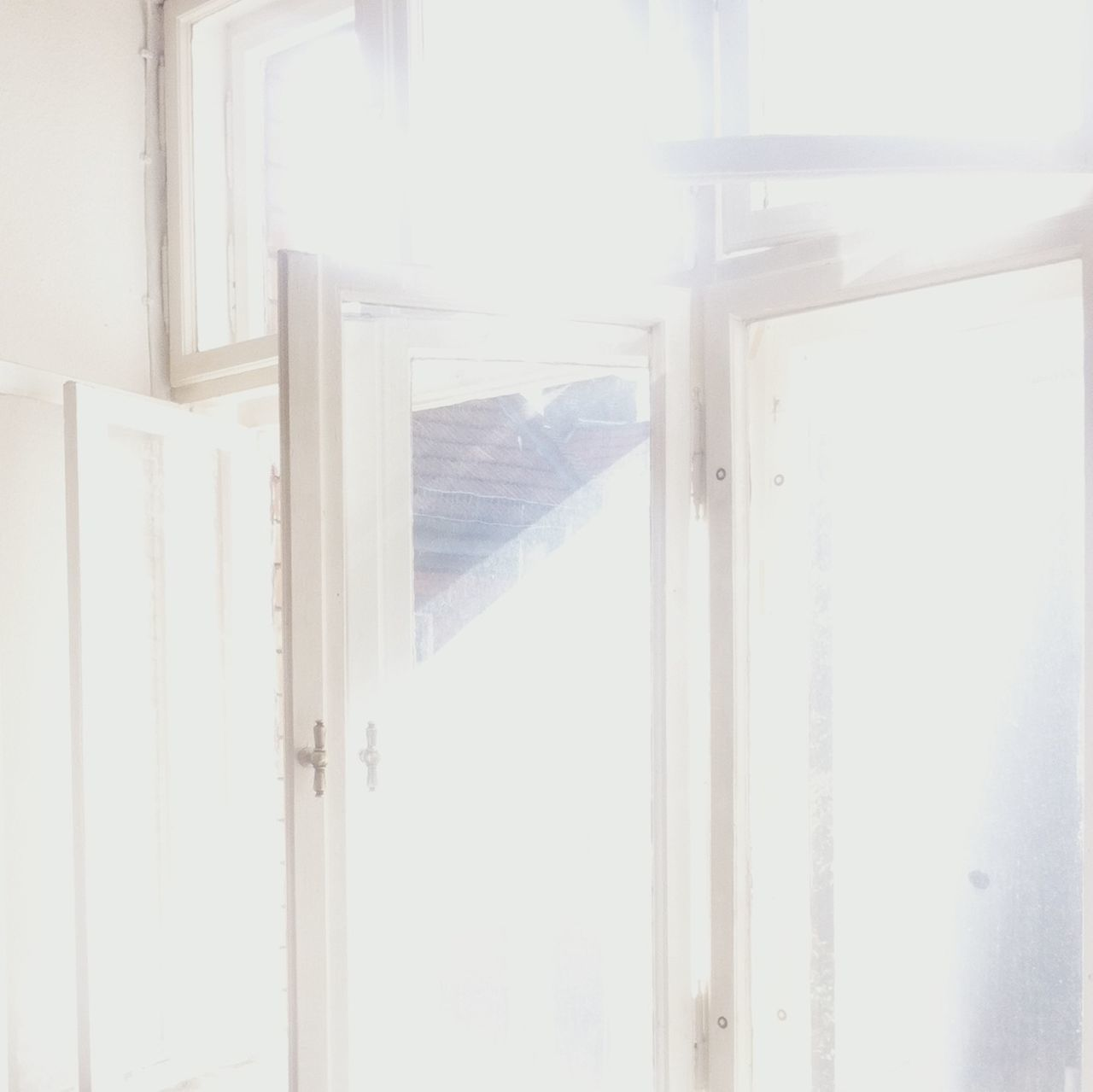 Sunlight Falling Through Window In House