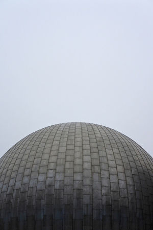 Architecture Building Exterior Built Structure City Clear Sky Day Futuristic Low Angle View Modern No People Outdoors Planetarium Sky