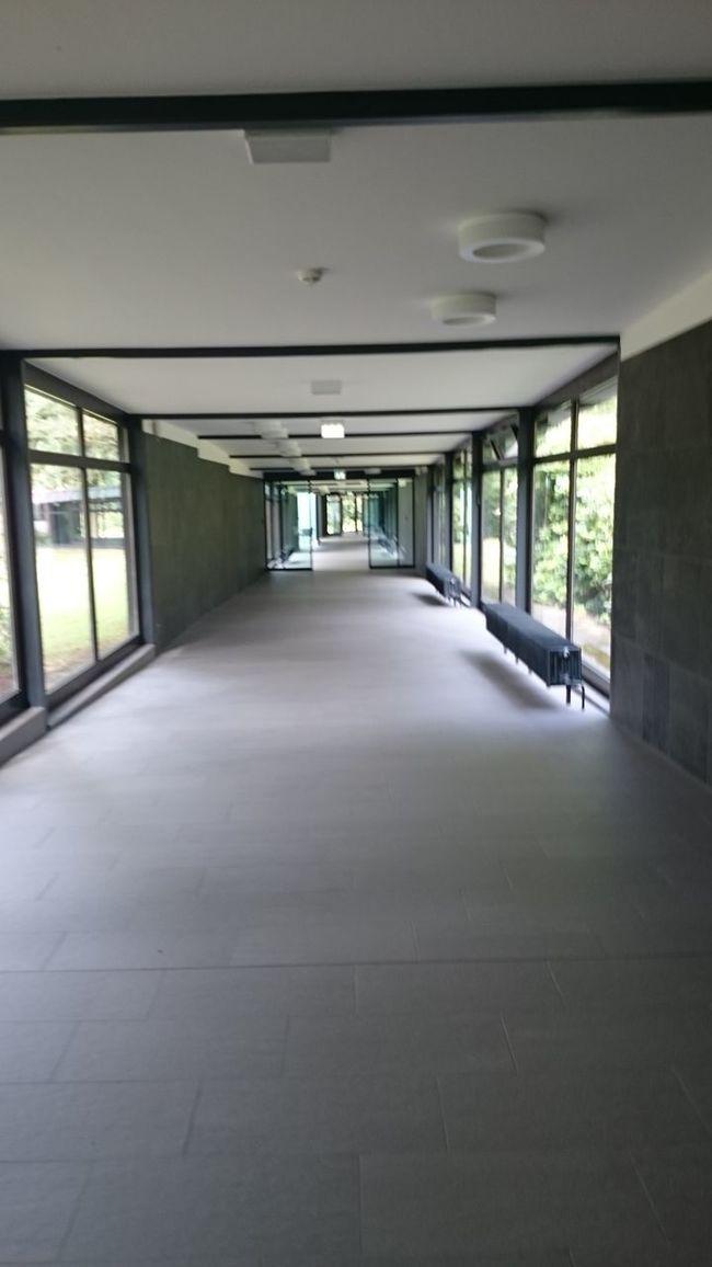 Interior Style Corridor Big Windows Empty Sliding Door Steril Eyeemphotography The Art Of Photography Silence
