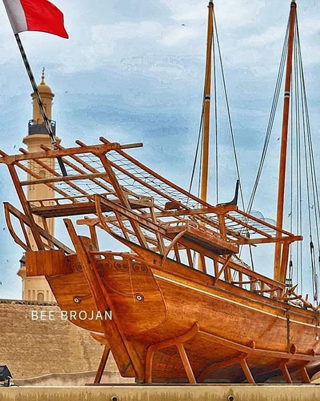BANGKANG KAHOY... during my visit at Dubaimuseum .. Traditional Culture Blastfromthepast Beauty Antique Dubai Boat