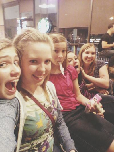 Went to Menchies and Starbucks with my girls last night after church! :) Starbucks Psl Menchies Froyo