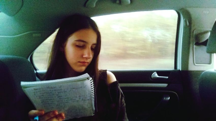 Reading Vehicle Interior Car One Woman Only Only Women Looking Down One Person Newspaper Adults Only Mid Adult Transportation Travel Journey Window Adult Car Interior Sitting Headshot Day Concentration Outdoors Tranquility Silhouette Passion Scenics EyeEmNewHere Second Acts