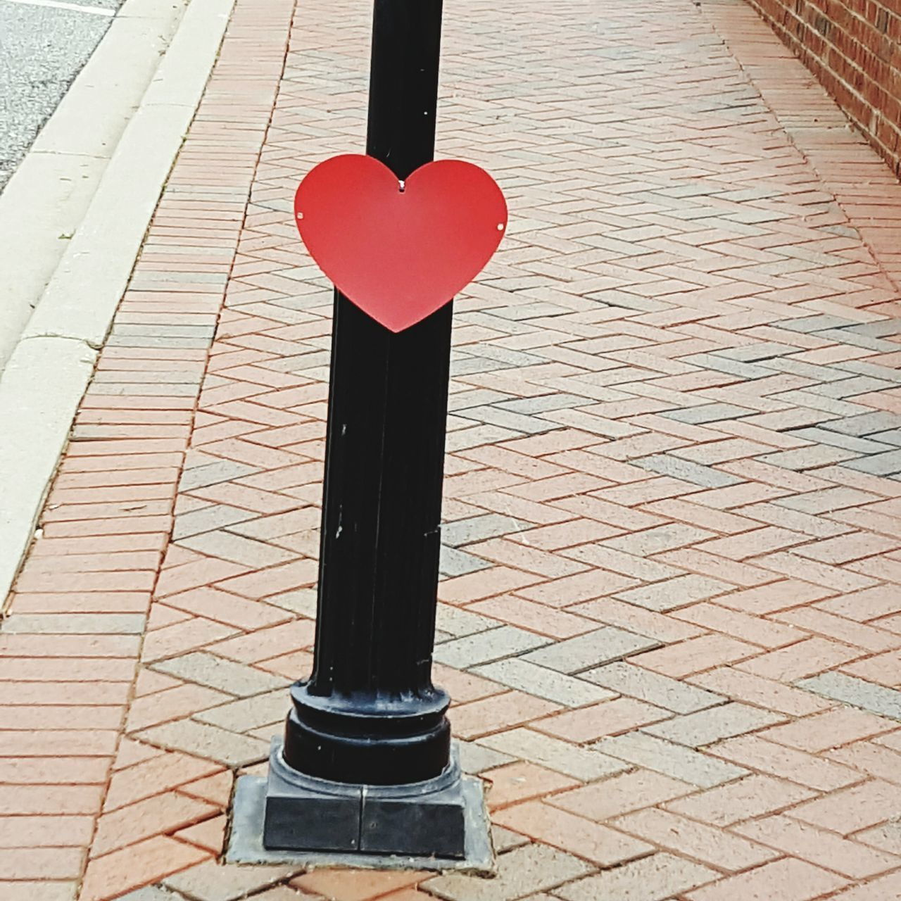 Love Where You Live Single Object Spartanburg, SC Heartsalive Red Heart Shape Sunlight Outdoors No People Day Lovewhereyoulive Ilovehim