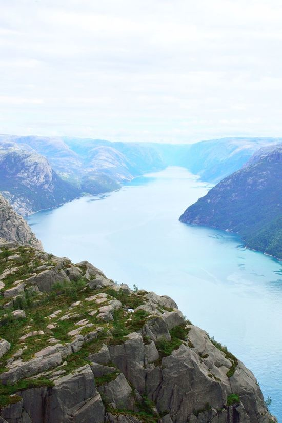 Norway fjord: a view from the pupit rock Bay Beautiful Beautiful Nature Cliff Coastline Day Fjord Fjordsofnorway Landscape Mountain Nature No People Norway Outdoors Scenery Scenics Sea Stavanger