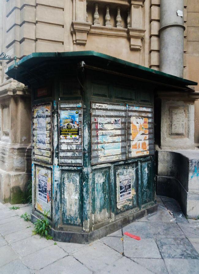 Original Experiences Kioco Palermo Quatrocanti Relaxing Journalism Press Photography Green Closed Corner City Photography
