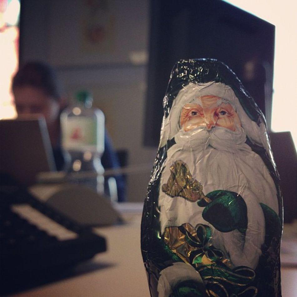 Weihnachten im Büro