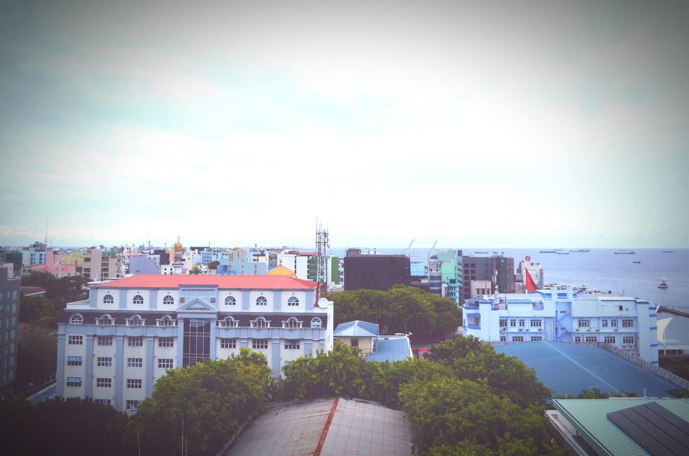 Rainy Days Male'city Maldives
