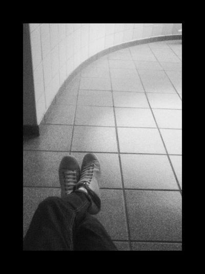 Shoes Wall Black & White My Feet