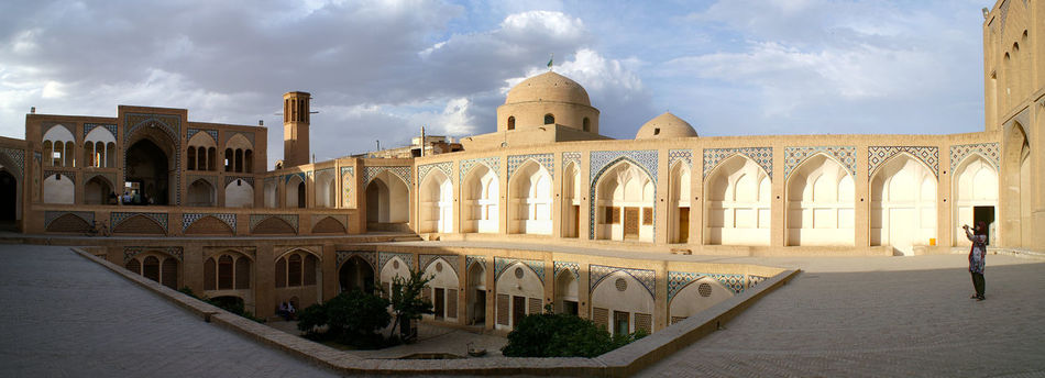 Moschea di Kashan, Iran Architecture History Iran Kashan Moschea No People Panoramic Travel Destinations ZARATUSTRA