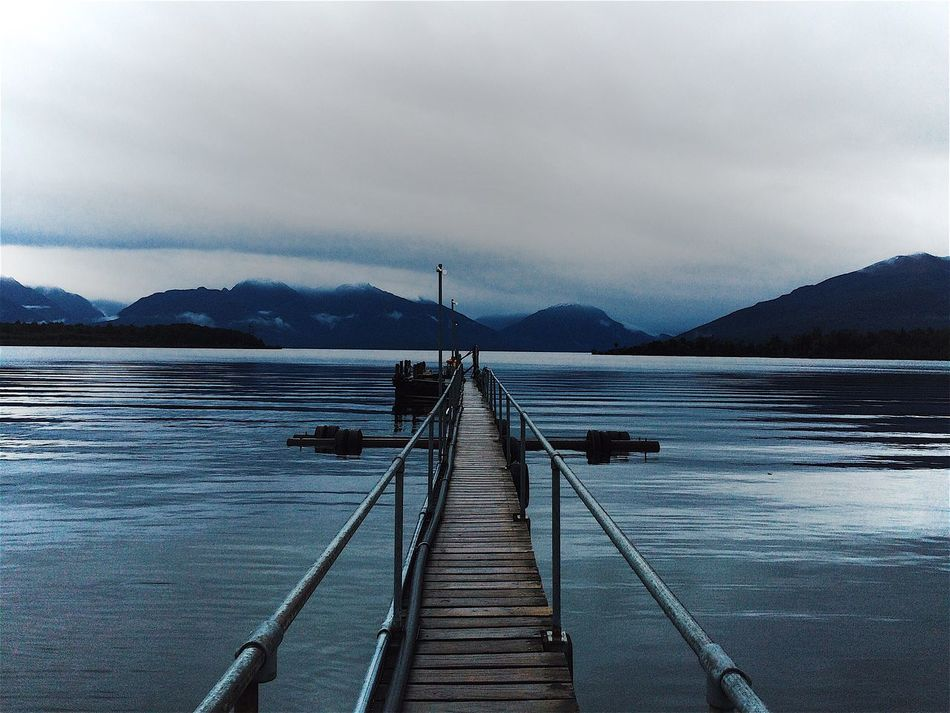 TeAnau Te Anau Bridge Hello World Mountains Lake Lake View New Zealand New Zealand Landscape New Zealand Beauty New Zealand Scenery Throwback Nature Outdoors