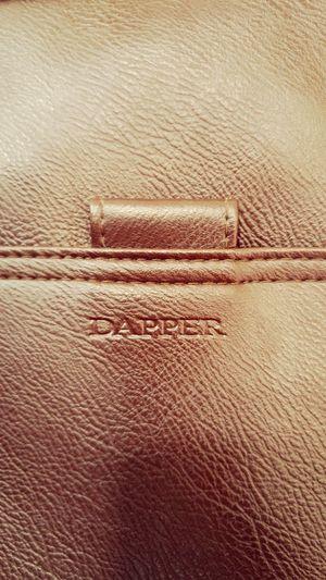 DAPPER leather bag. Leather Leather Bag Leatherbag Leathergoods