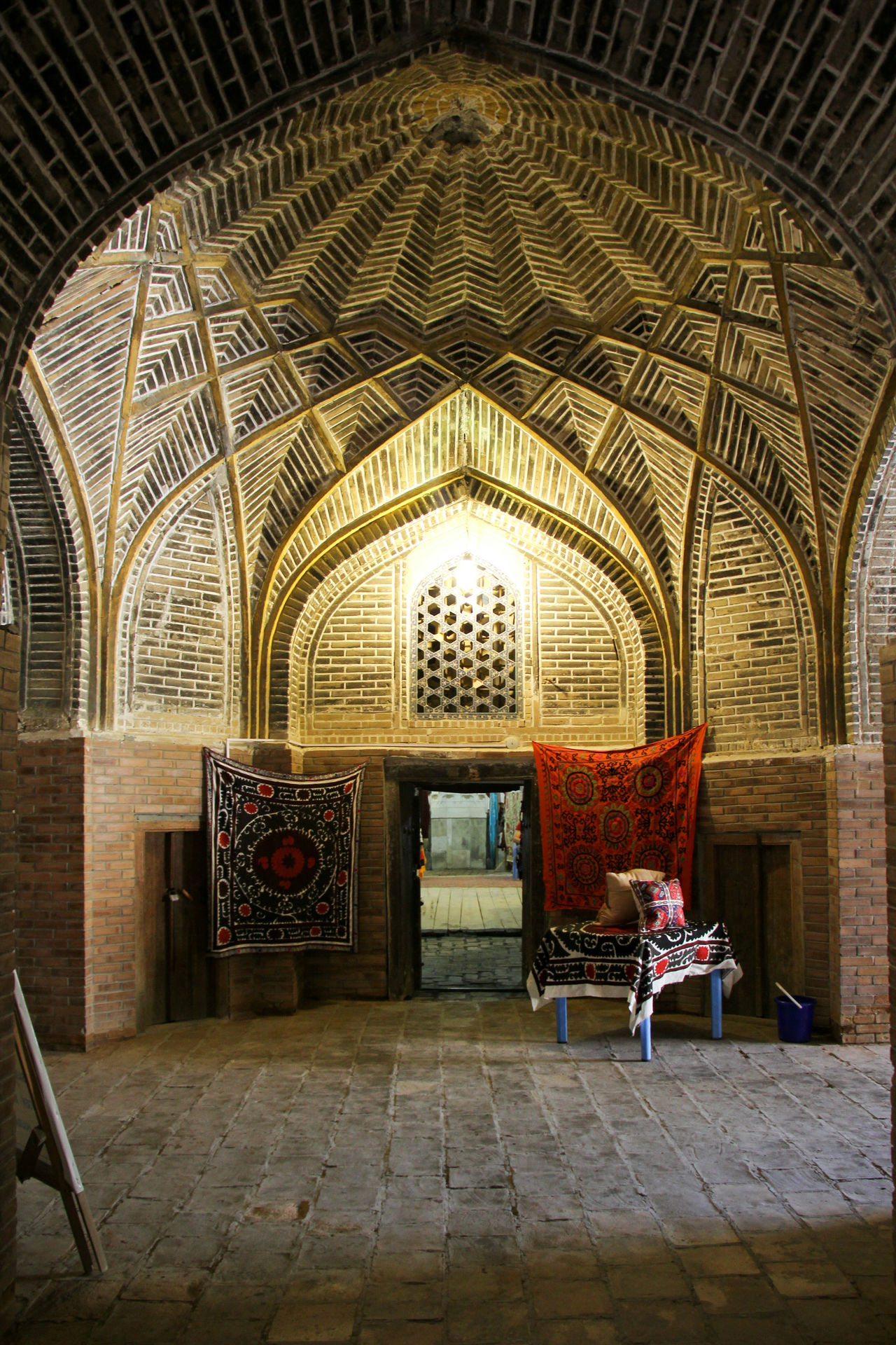 Adult Arch Architecture Built Structure Bukhara Day Full Length History Indoors  Islamic Islamic Architecture Islamic Art Madrassa Place Of Worship Religion Silk Road Travel Destinations Uzbekistan